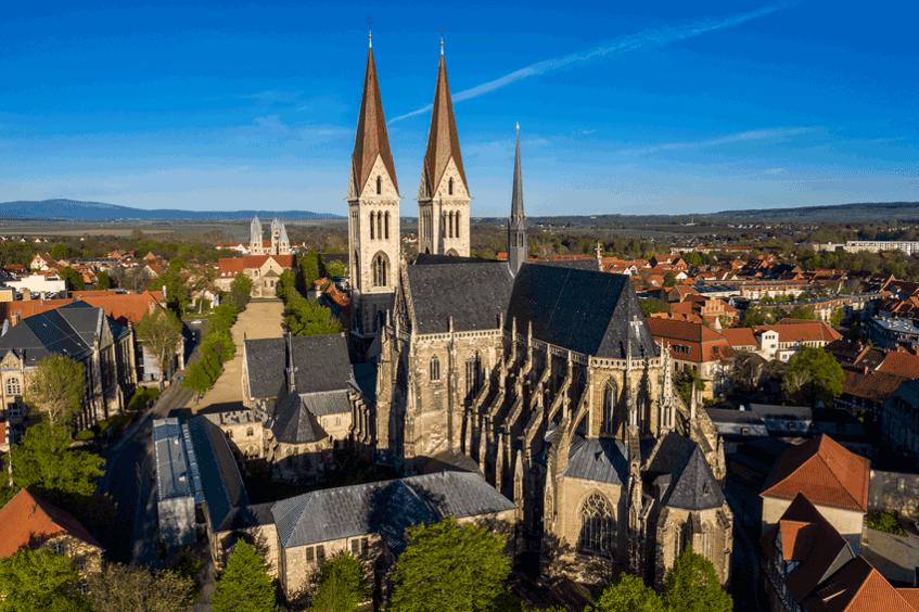 Halberstädter Dom von außen Kulturstiftung Sachsen-Anhalt, Fotograf: Ulrich Schrader