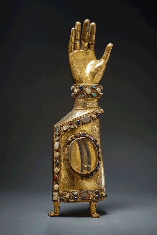 Armreliquiar des Heiligen Nikolaus, 13. Jahrhundert Kulturstiftung Sachsen-Anhalt