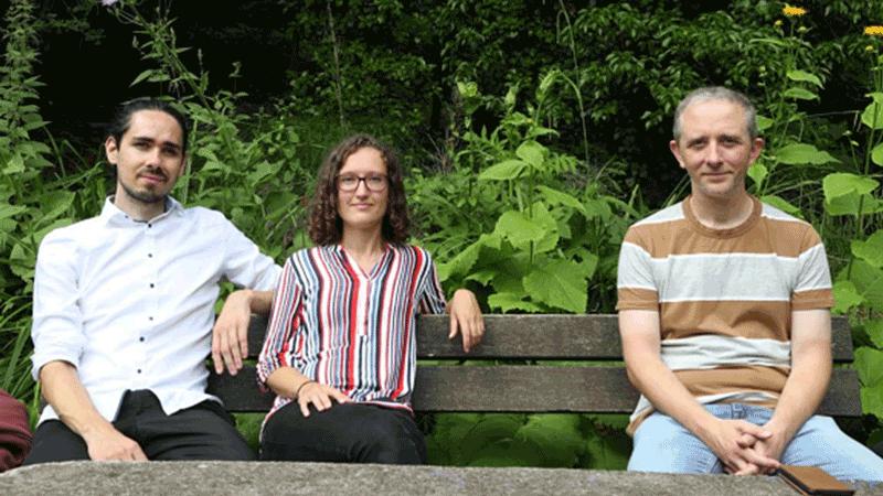 Gerd Müller, Anne Mühlich, Karsten Heck, Jens Kleinert