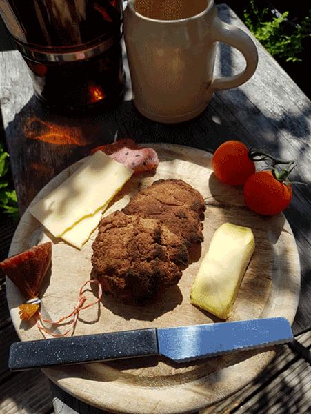 Holzige Brotzeit