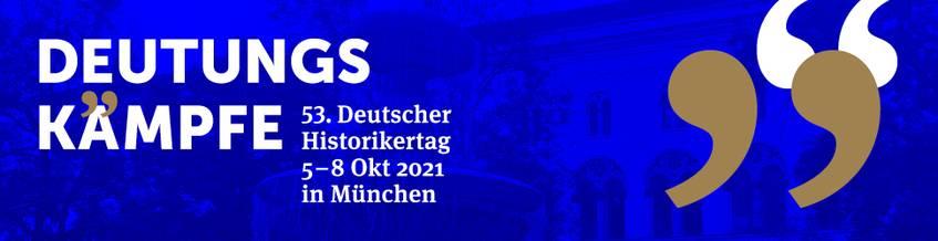 Deutsche Digitale Bibliothek auf dem Historikertag 2021