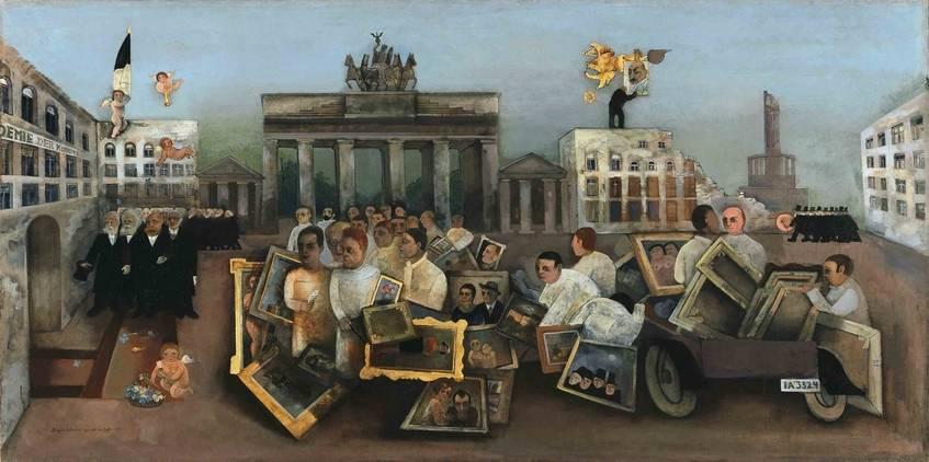 Felix Nussbaum, Der tolle Platz, 1931, Berlinische Galerie, Repro: Kai-Annett Becker (CC0 1.0 Universell - Public Domain Dedication)