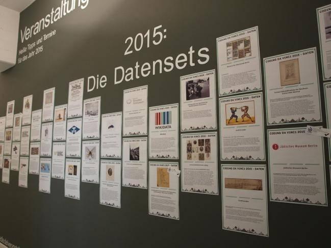 Wand der Datensets
