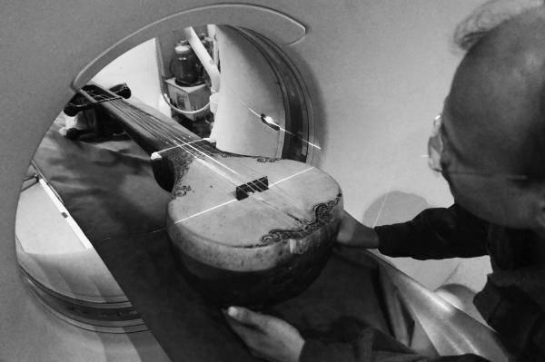 CT-Aufnahmen südasiatischer Musikinstrumente