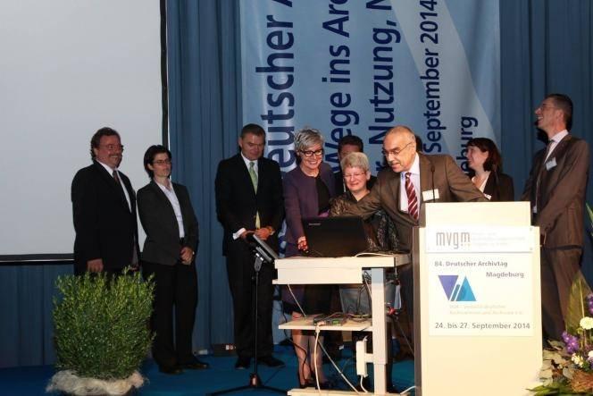 Freischaltung des Archivportal-D am 24. September 2014 Copyright © VdA (Verband deutscher Archivarinnen und Archivare e.V.)