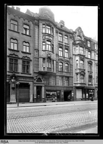 Köln, Ehrenfeld, Venloerstraße 21, Foto: Zapp, Fritz, © Rheinisches Bildarchiv Köln