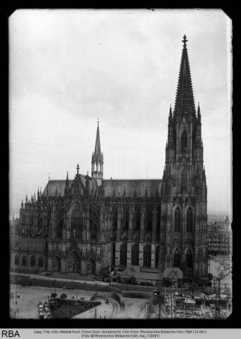 Köln, Altstadt-Nord, Kölner Dom, Nordansicht, Foto: Zapp, Fritz, © Rheinisches Bildarchiv Köln