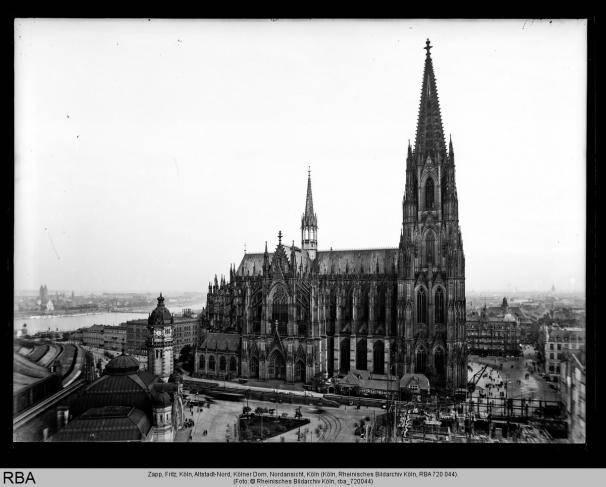 Köln, Altstadt-Nord, Kölner Dom, Nordansicht  Foto: Zapp, Fritz © Rheinisches Bildarchiv Köln