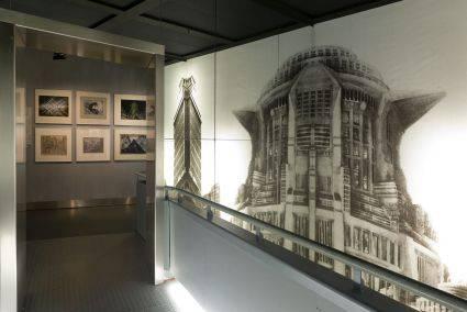 """Bereich """"Metropolis"""" in der Ständigen Ausstellung, Deutsche Kinemathek – Museum für Film und Fernsehen, Foto: Marian Stefanowski, Quelle: Deutsche Kinemathek"""