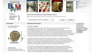 BAM Portal Screenshot
