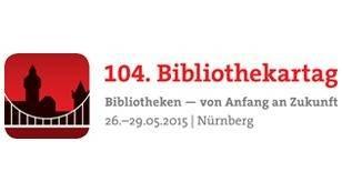 Logo 104. Bibliothekartag