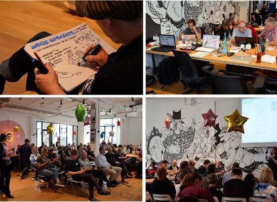 Impressionen vom Kick-Off Coding da Vinci Nord 2016 in Hamburg, Fotos: Wiebke Hauschildt/Deutsche Digitale Bibliothek