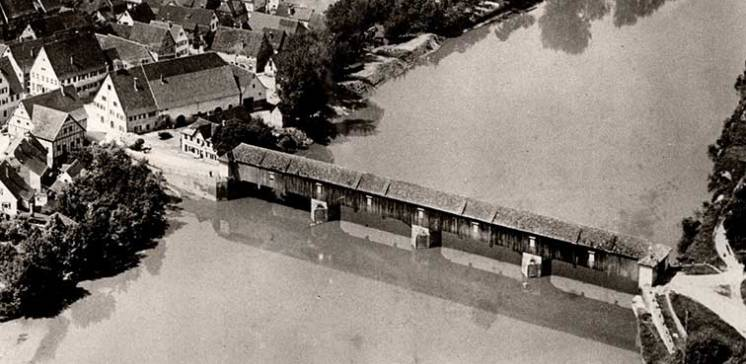 Die Benninger Neckarbrücke