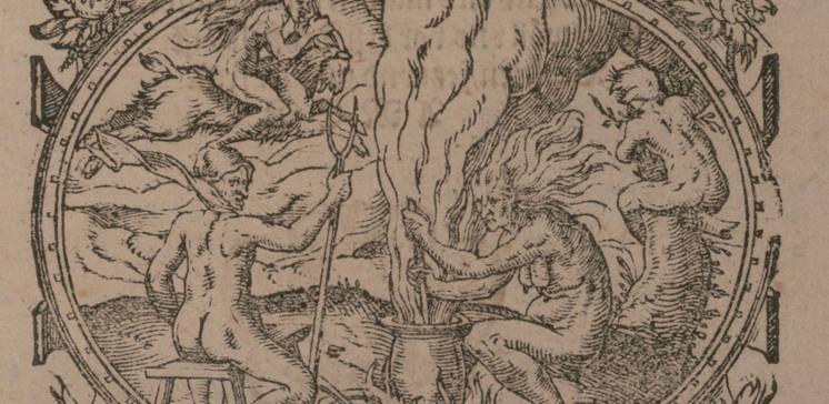 """Startseite der Ausstellung """"Zauberei ist des Teufels selbs eigen Werk"""". Hexenglaube und Hexenverfolgung in Hessen"""