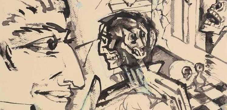 Steppenwolf und Malerfreund. Gunter Böhmer illustriert Hermann Hesse