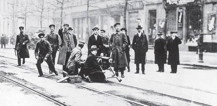 1918: Zwischen Weltkrieg und Revolution. Ein Entscheidungsjahr für Deutschland