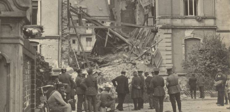 Die Zerstörung Darmstadts im Zweiten Weltkrieg