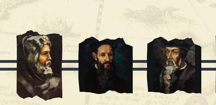 Die Reformatoren. Gemälde von Andrej Chizhov (Ukraine)