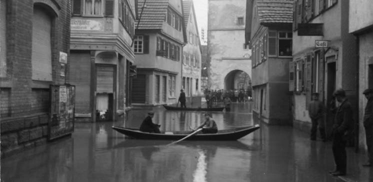 Als Weihnachten ins Wasser fiel. Remshochwasser 1919