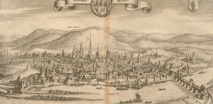 Die »Topographia Germaniae« von Matthaeus Merian. Die Erzbistümer Mainz, Trier und Köln