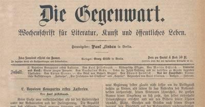 Ein Zeitungsportal für Deutschland: DDB baut weiteres Spezialangebot auf