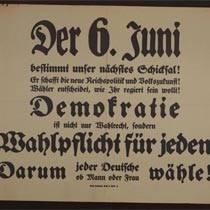 Archivportal-D bald mit thematischem Zugang zur Weimarer Republik