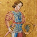 Münzen-Bube aus einem Tarockspiel, Museum August Kestner