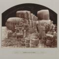 Ausfüllen in den 70er Jahren in der Brauerei Hoepfner in Karlsruhe
